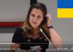 Глава МИД Канады внезапно перешла на украинский язык: видео с обращением к Москве из-за Украины поразило Сеть