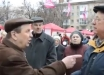 В Полтаве пенсионеры мощно защитили своего кандидата в президенты: видео о настоящем лидере украинцев