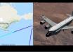 """Американский военный разведчик RC-135U Combat Sent на границе с Крымом возмутил РФ: """"Очень нагло ведет себя"""""""