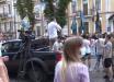 Нацкопус пришел к СБУ с ультиматумом по ОПЗЖ и партии Шария - кадры акции протеста