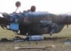 Появились фото с места крушения российского ударного вертолета МИ-28