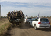 На Донбассе продолжается процедура разведения вооружений от линии разграничения - появились первые кадры