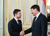 Зеленский после инаугурации встретился с венгерским президентом Яношем Адером: стало известно, что обсуждали лидеры