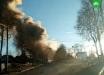 Черный дым и руины: в соцсетях появляются первые видеокадры мощного взрыва в Ленобласти