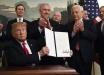 Официально: Трамп признал израильский суверенитет над Голанскими высотами - исторические кадры