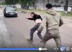 В Чернигове ветеран АТО без ноги по-мужски ответил водителю маршрутки, который выгнал его из салона: видео