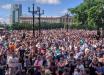Протест в Хабаровске: 30 тысяч россиян вышли в центр города и требовали отставки Путина, кадры
