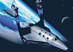 Virgin Galactic скоро запустит в космос первых туристов: уже приняты сотни заявок