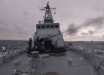 """Патрульный катер ВМС Украины """"Старобельск"""" открыл артиллерийский огонь в открытом море из установки М110, фото"""