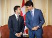 Зеленский поговорил с премьером Канады Трюдо из-за России