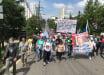 """В Хабровске протестуют 29-й день: видео, как многотысячная толпа скандирует """"Путина долой!"""""""