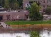 """В Одесской области затопило стадион, который открывал Зеленский: """"Ковры раздулись и поплыли..."""""""