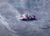 """Азербайджан с воздуха ликвидировал еще два армянских танка """"Т-72"""" в Карабахе: кадры взрыва"""