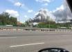 """Страшный взрыв потряс Россию, пылает оборонный завод """"Рубин"""" в Балашихе - кадры"""
