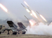Армия Азербайджана накрыла реактивной артиллерии позиции Армении: кадры мощного залпа
