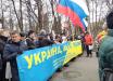 В Москве 25 тысяч россиян с флагами Украины и ЕС требуют отставки Путина: самые яркие кадры Марша Немцова