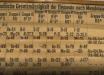 Самый старый экземпляр таблицы Менделеева найден в куче мусора в шотландском университете - фото