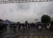 """Бунт водителей на КПП """"Тиса"""": ситуация накалилась, авто пограничников сбросили в кювет"""
