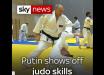 Появилось видео, как Путин получил травму во время дзюдо: СМИ сообщили о последствиях
