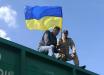 Во Львовской области спецназ дубинками разогнал участников блокады российского угля - видео