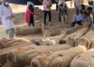 В Египте раскопали более 20 саркофагов: в Долине Царей археологи сделали масштабное открытие – уникальные кадры