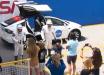 Запуск корабля Crew Dragon: астронавты попрощались с родными, последние мгновения перед полетом