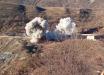 Солдаты Армении взорвали военную базу в Карабахе перед уходом - момент попал на видео
