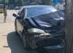 Пьяный автомойщик, угнав Mercedes, устроил 2 ДТП и влетел в остановку с людьми