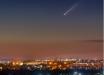 Запорожский фотограф поймал в объектив пролетающую над Землей комету Neowise