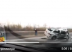 """Гибель главаря """"ЛНР"""" в ДТП под Луганском: появилось видео разбитой машины, у боевиков траур"""