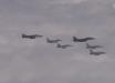 Появились кадры удара южнокорейских истребителей по российским Ту-95 МС