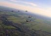 """ВВС Украины """"поиграли мускулами"""", подняв в небо 12 боевых истребителей против условного врага, кадры"""
