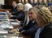 Глава РПЦ Гундяев уже не скрывается и явился на встречу Путина с руководством Минобороны РФ