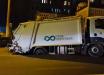 ЧП в центре Киева: многотонный мусоровоз провалился под асфальт