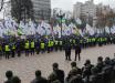 Акция протеста ФЛП в Киеве: несколько тысяч человек вышли под Раду – полиция перешла на усиленный режим работы