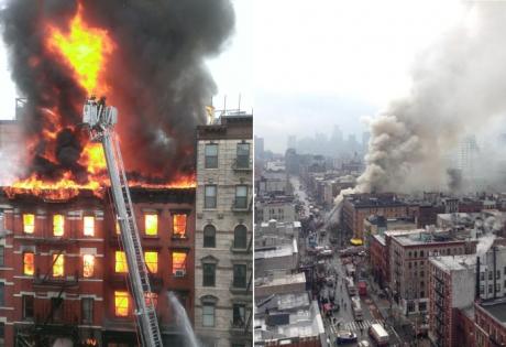 нью-йорк, сша, манхэттен, происшествия, взрыв