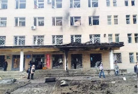больница 27, донецк, кировский район, текстильщик, обстрел, происшествия, днр, восток украины