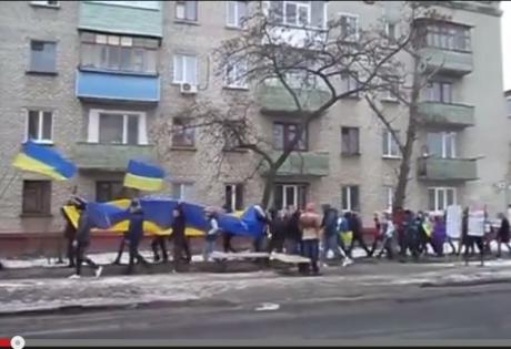 северодонецк, марш мира, волноваха