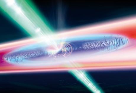 квантовые частицы, свет, материя, пленка