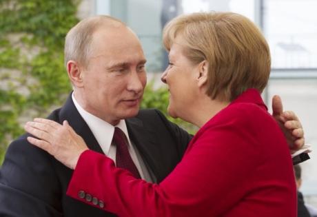 путин, меркель, экономика, политика