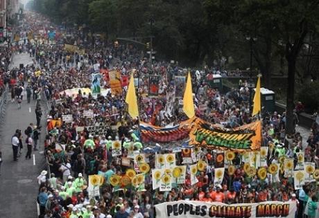 климат, нью-йорк, демонстрации