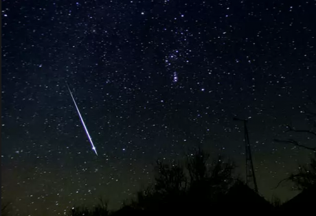 звездопад, астероиды, метеориты