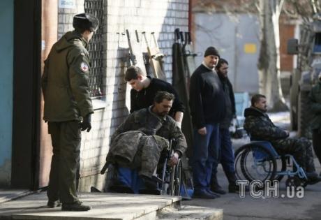 Раненых защитников Дебальцево привезли в Артемовск - СМИ