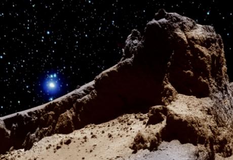 комета, фила, розетта, горы