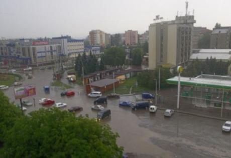 черновцы, украина, происшествия, общество, потоп, ливень, стихия, новости