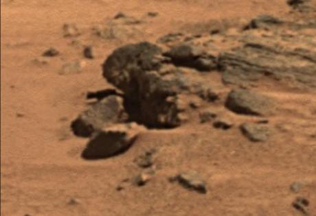 голова, марс, камни, уфологи, марсоход