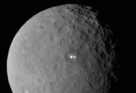 спутник, Церера, белые пятна, двойники, космос, наука
