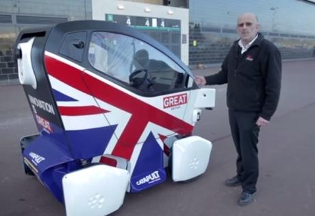 В Лондоне стартовали испытания роботов-такси в уличных условиях