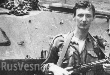 В сети появилось уникальное военное фото Стрелкова из Приднестровья