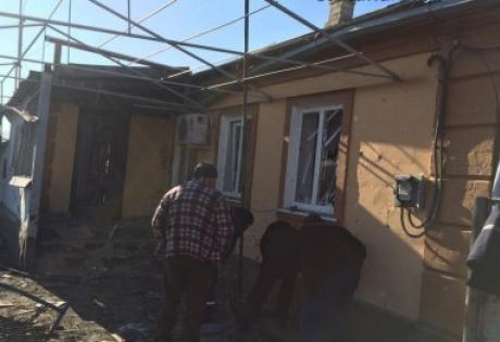 Мариуполь, Сартана, обстрел, АТО, ДНР, ВСУ, армия Украины, война в Донбассе, восток Украины